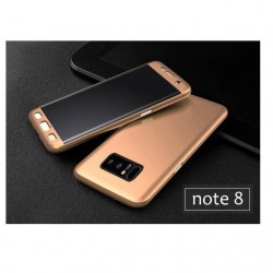 Protection  pour Samsung N950/Note 8 - complete 360 Or