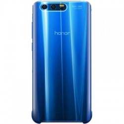 Coque pour Honor 9 - rigide Honor transparente et bleue