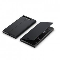 Etui pour Sony Xperia Xz1 - Sony Style Cover Stand Noir