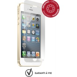 Verre trempé pour iPhone 5/5S/SE/5C - Force Glass et kit de pose