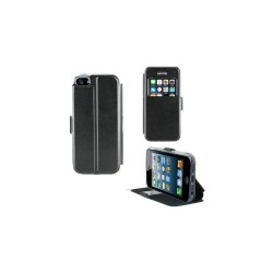 Etui pour Iphone SE/5/5S - Book case fenetre Noir