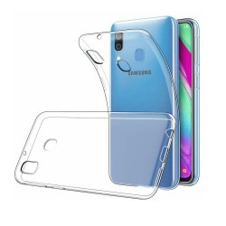 Coque pour Samsung Galaxy A40 - minigel transparent