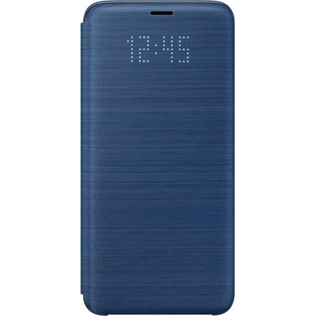Etui pour Galaxy S9 G960 - LED View Cover Samsung bleu