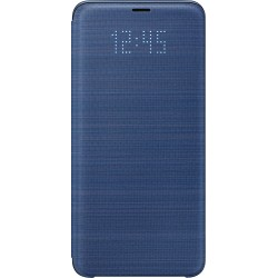 Etui pour Galaxy S9+ G965 - LED View Cover Samsung bleu