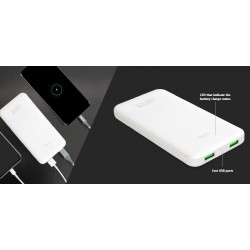 batterie externe Puro 10000 mah fast charge