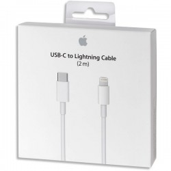APPLE Câble USB-C vers Lightning 2 METRES