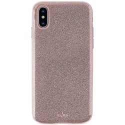 Etui folio pour iPhone XS Max Puro - Rose