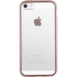 Coque pour iPhone 5/5S/SE Colorblock rose
