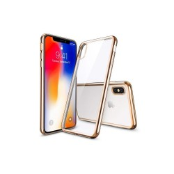 Coque pour Iphone X - Minigel Bumcristal Or