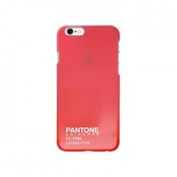 Coque iPhone 6 rigide Pantone rose