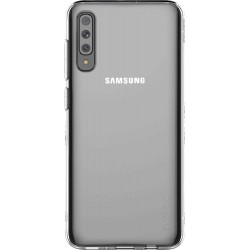 Coque pour Galaxy A70 A705 - semi-rigide transparente Designed for Samsung
