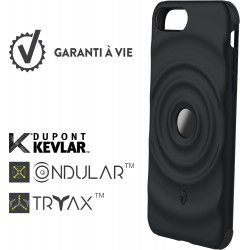 Coque pour iPhone 6 Plus/6SPlus/7 Plus/8 Plus - rigide Force Case Ultimate noire