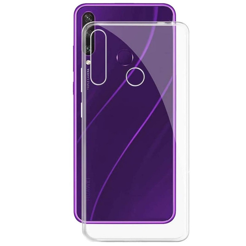 Coque pour Huawei Y6P 2020 - Minigel slim Transparent