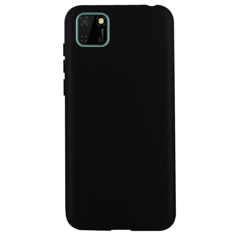 Coque softy touch pour Huawei Y5P 2020 - NOIR