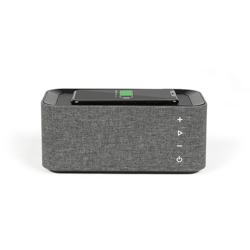 Enceinte Bluetooth® + Charge induction Noire LIVOO